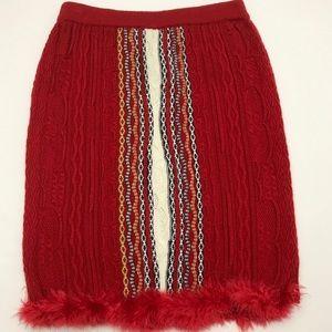 Coogi with fur skirt xxl